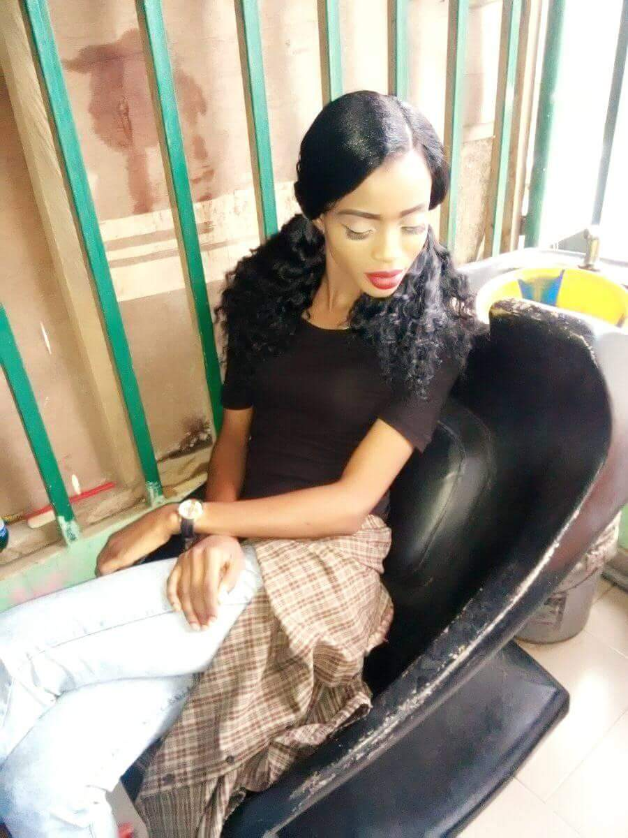 Nigerian Beauty Queen Agbani Qweence Cries Out (2)