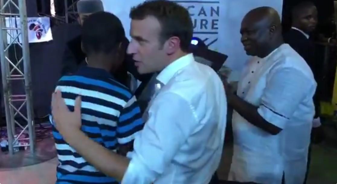 11-Year-Old Nigerian Draws French President Emmanuel Macron (2)