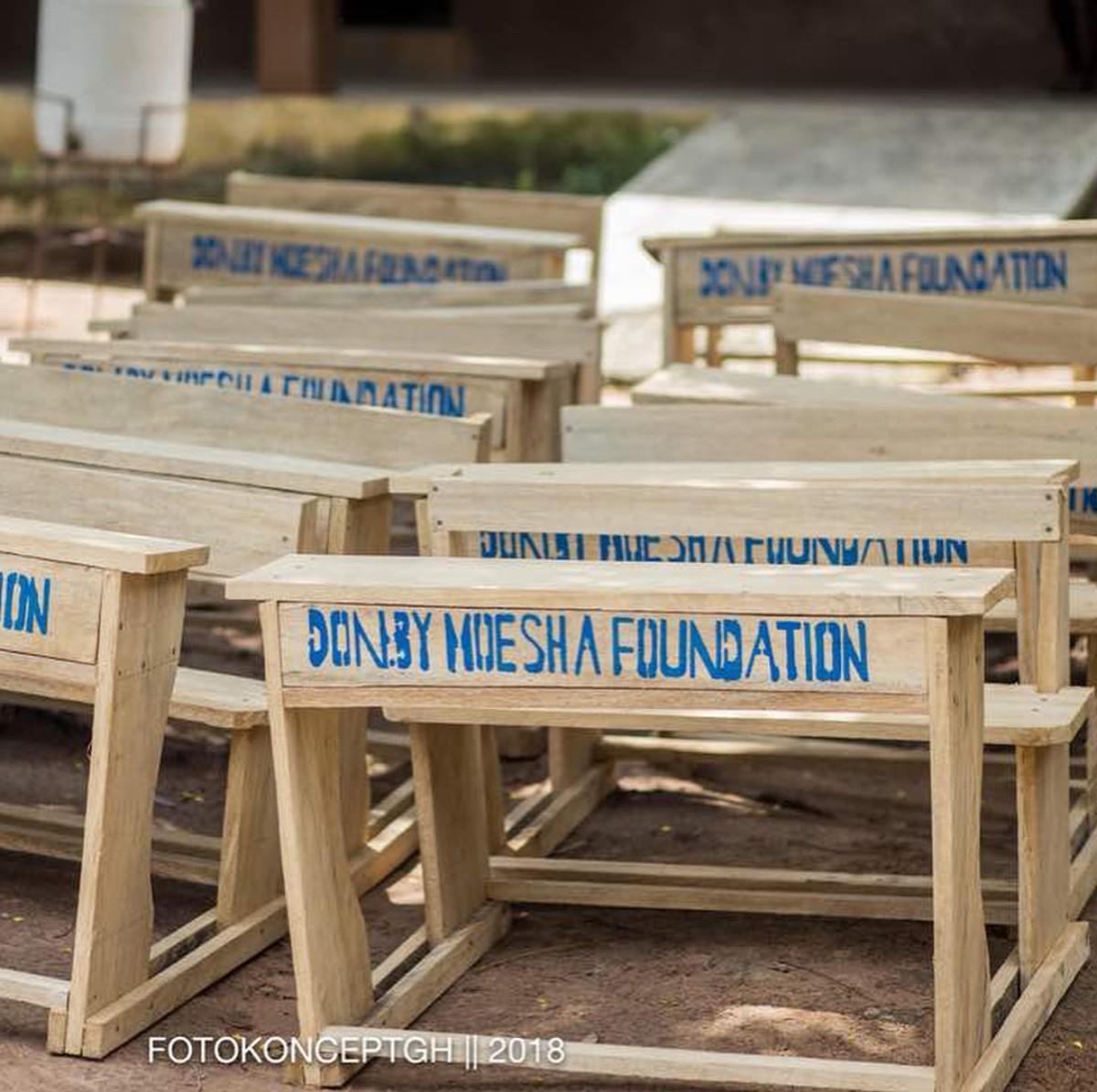 Moesha Boduong Aids TEBU/MA BASIC SCHOOL With Learning Materials (9)