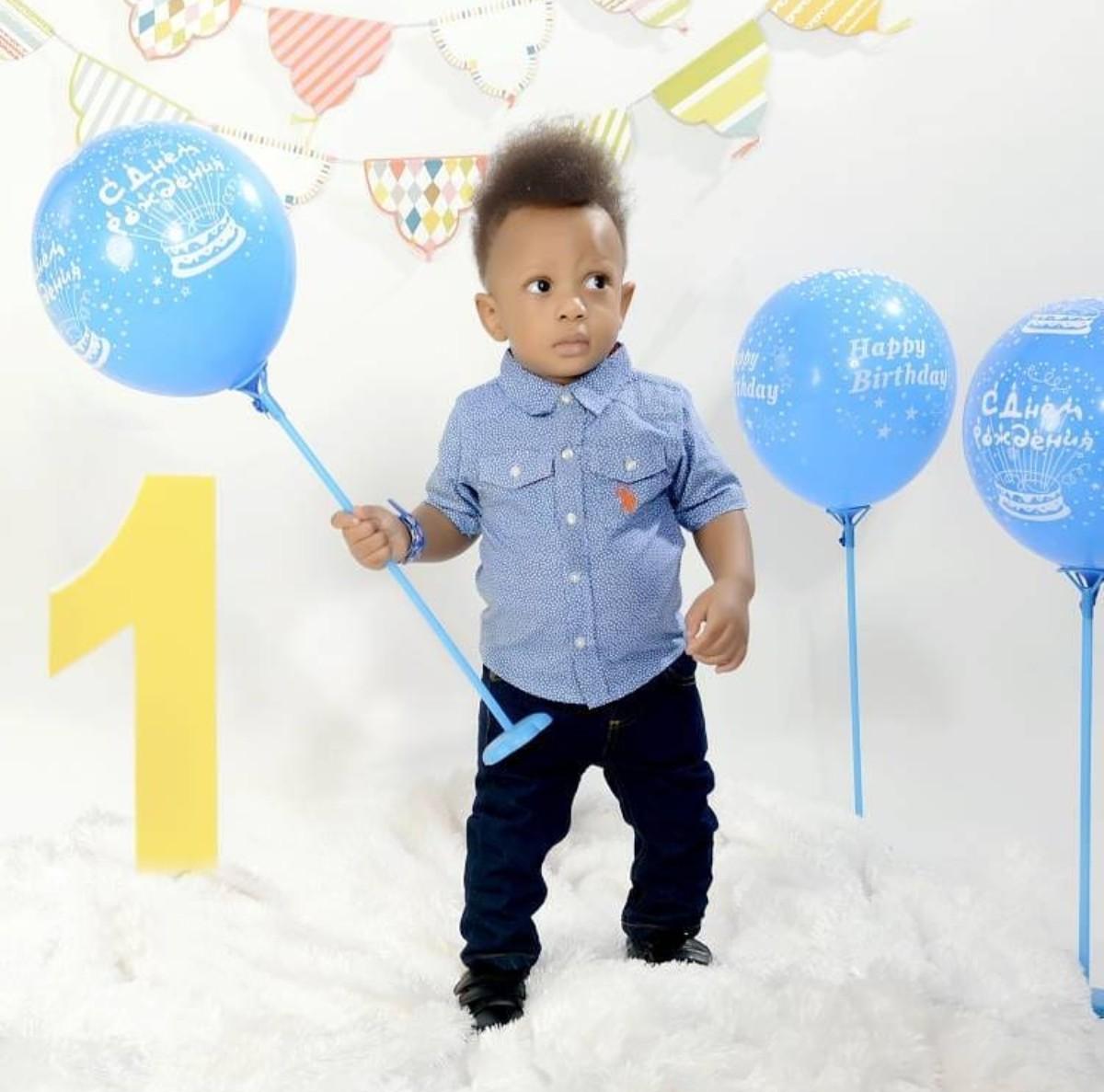 Yul Edochie Son Celebrates 1st Birthday