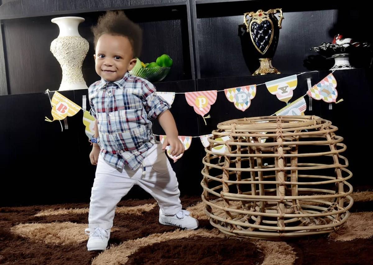 Yul Edochie Son Celebrates 1st Birthday (4)