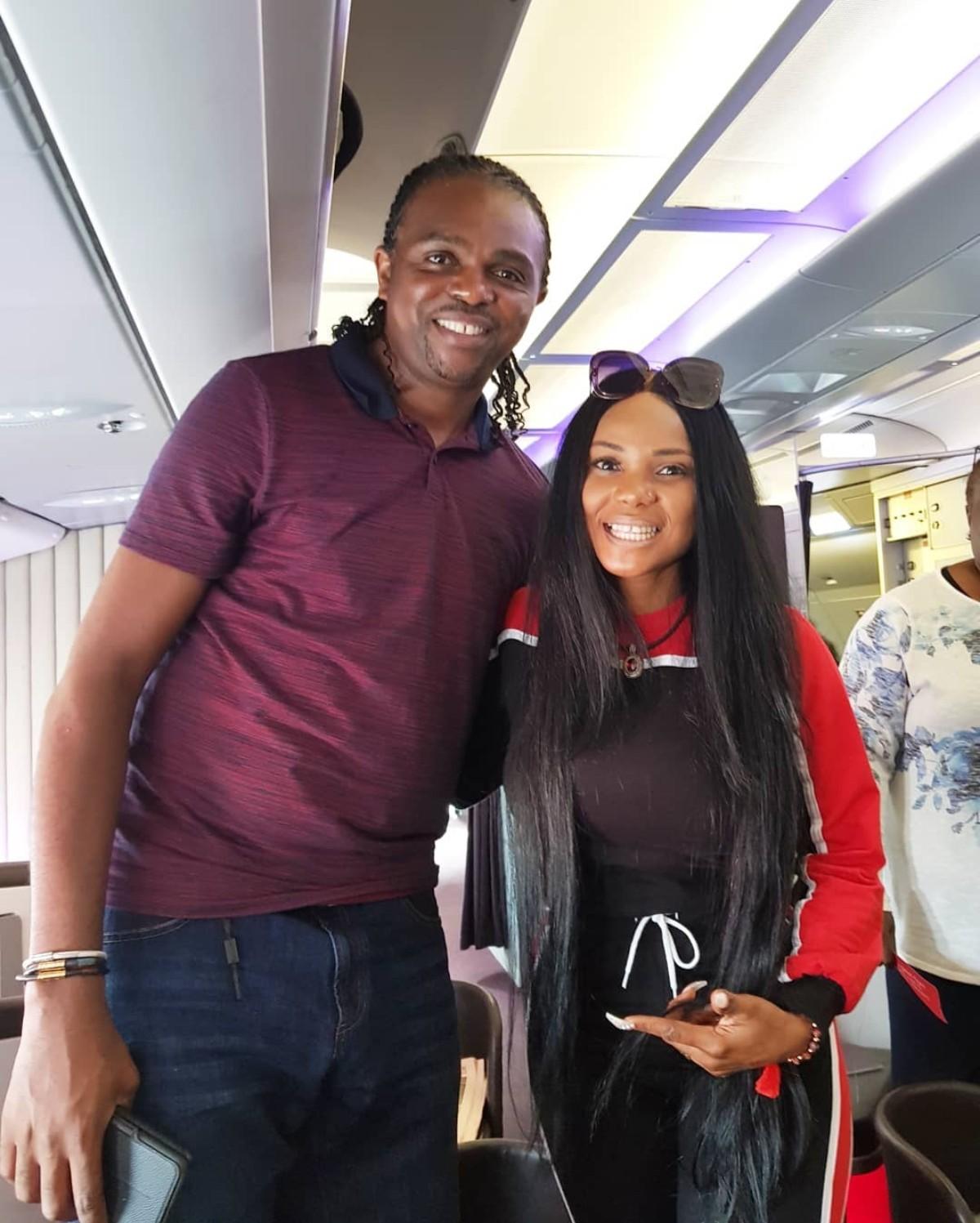 Iyabo Ojo With Kanu Nwankwo (3)