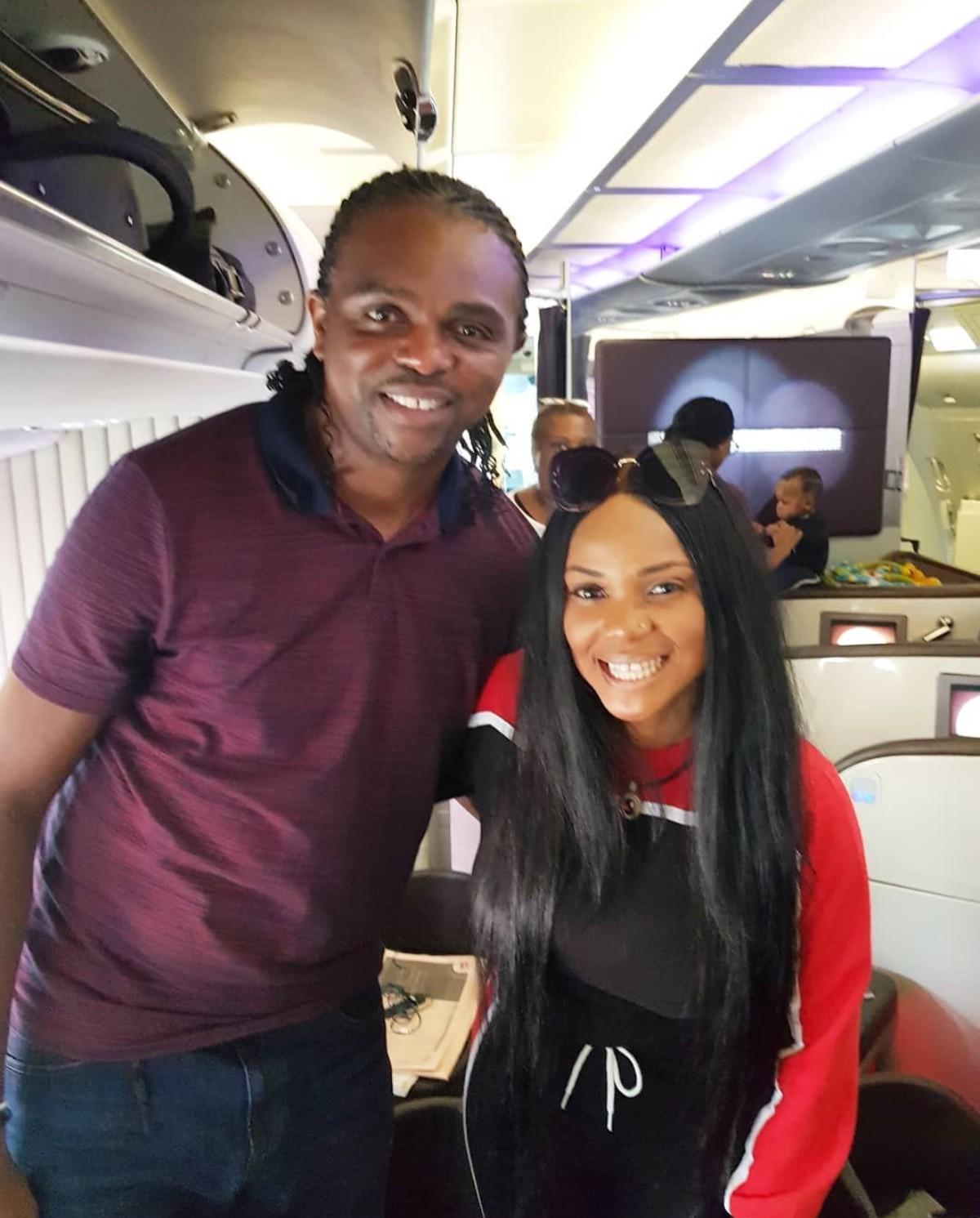Iyabo Ojo With Kanu Nwankwo (2)