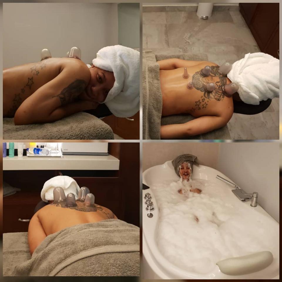 Tonto Dikeh Begins 6 Days Spa Retreat