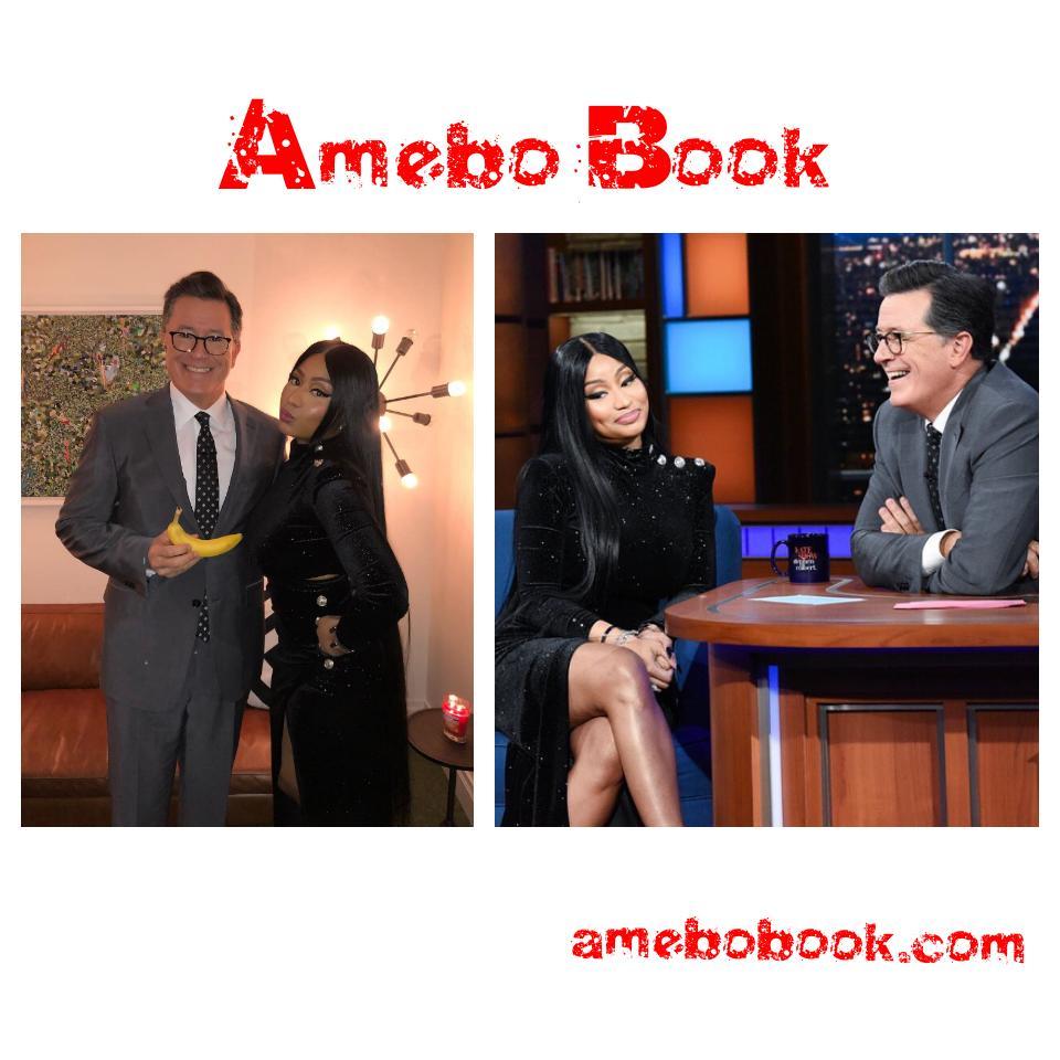 Nicki Minaj Gives Stephen Colbert His Very Own Barbie Dreams