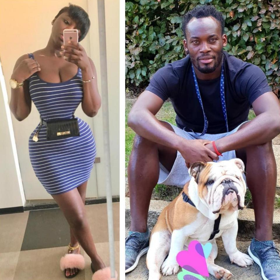 I Kissed Michael Essien In Public Because We Were Dating Princess Shyngle Says