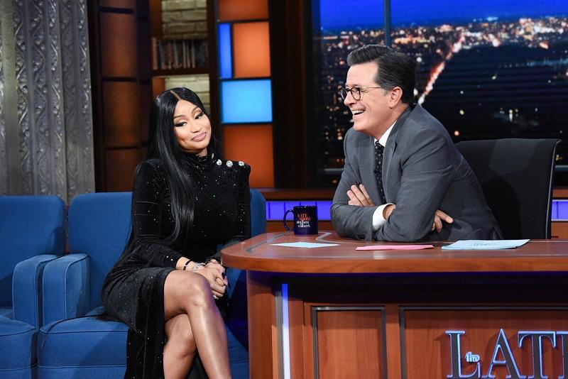 Nicki Minaj Gives Stephen Colbert His Very Own Barbie Dreams (3)