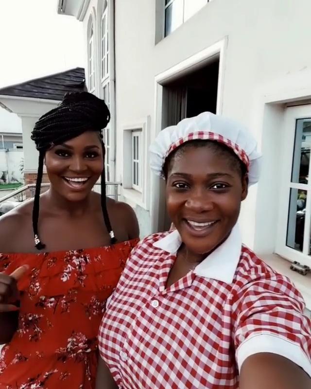 Mercy Johnson And Chizzy Alichi Goof Around (5)