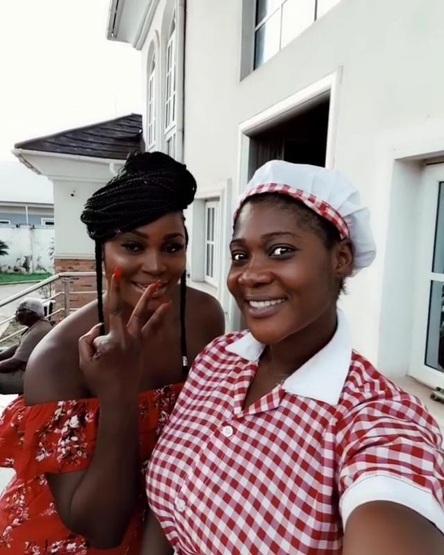 Mercy Johnson And Chizzy Alichi Goof Around (6)
