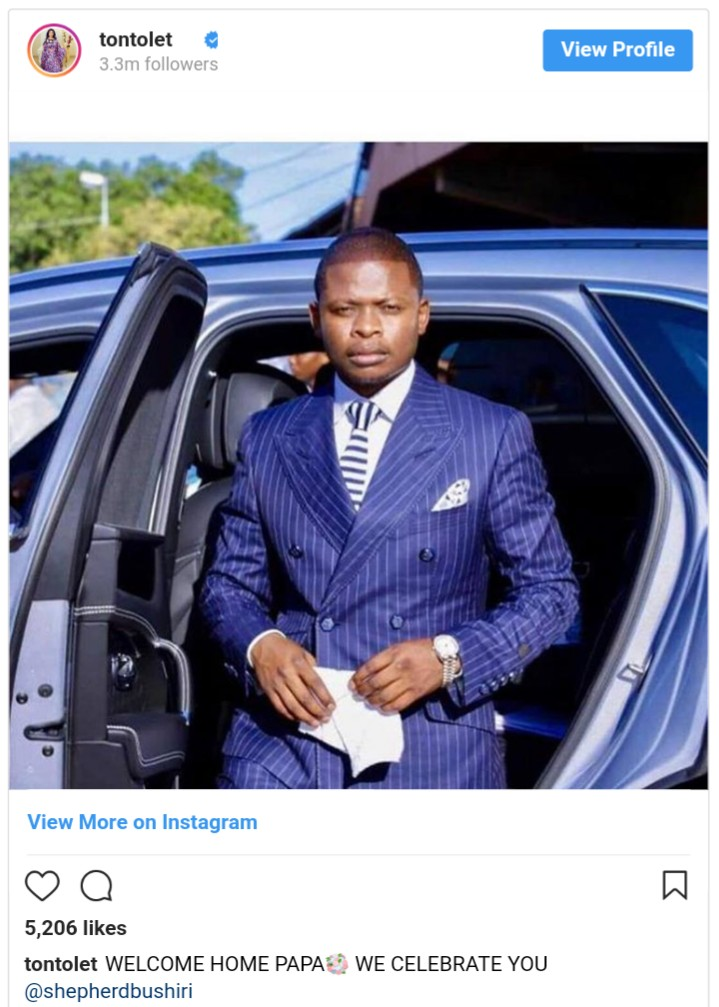 Tonto Dikeh Accused Of Sleeping With Shepherd Bushiri For ₦18 Million (2)