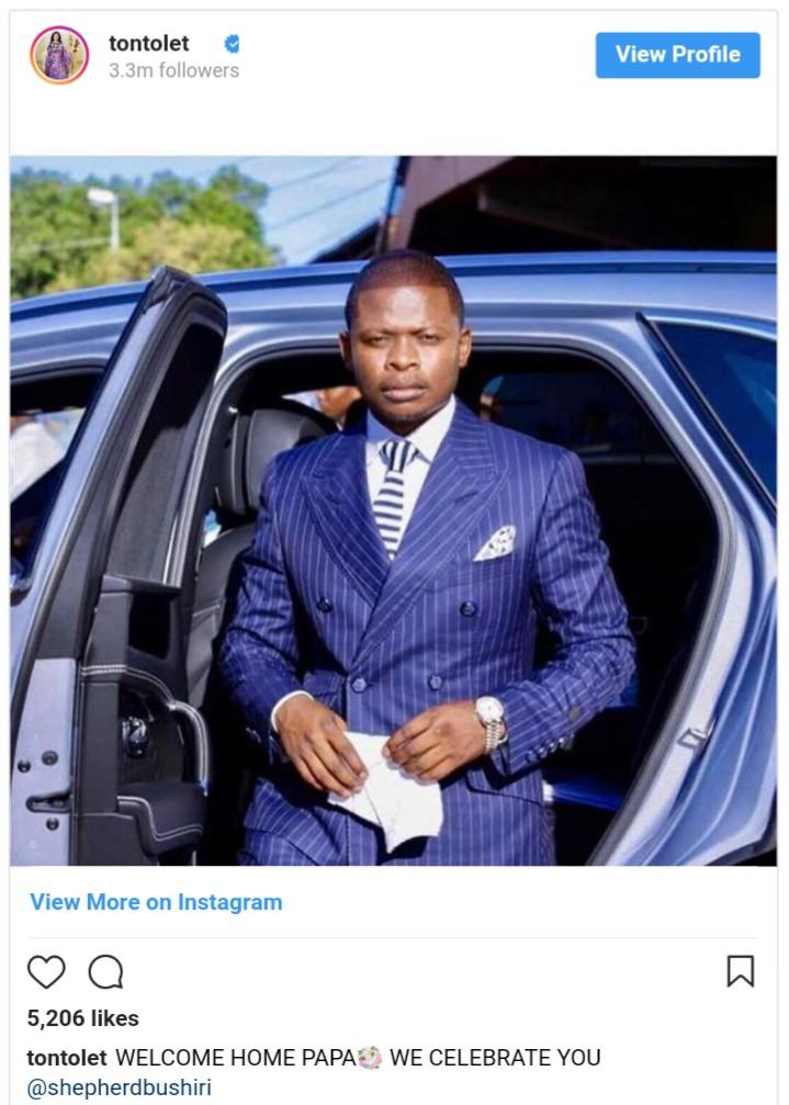 Tonto Dikeh Accused Of Sleeping With Shepherd Bushiri For ₦18 Million (2)