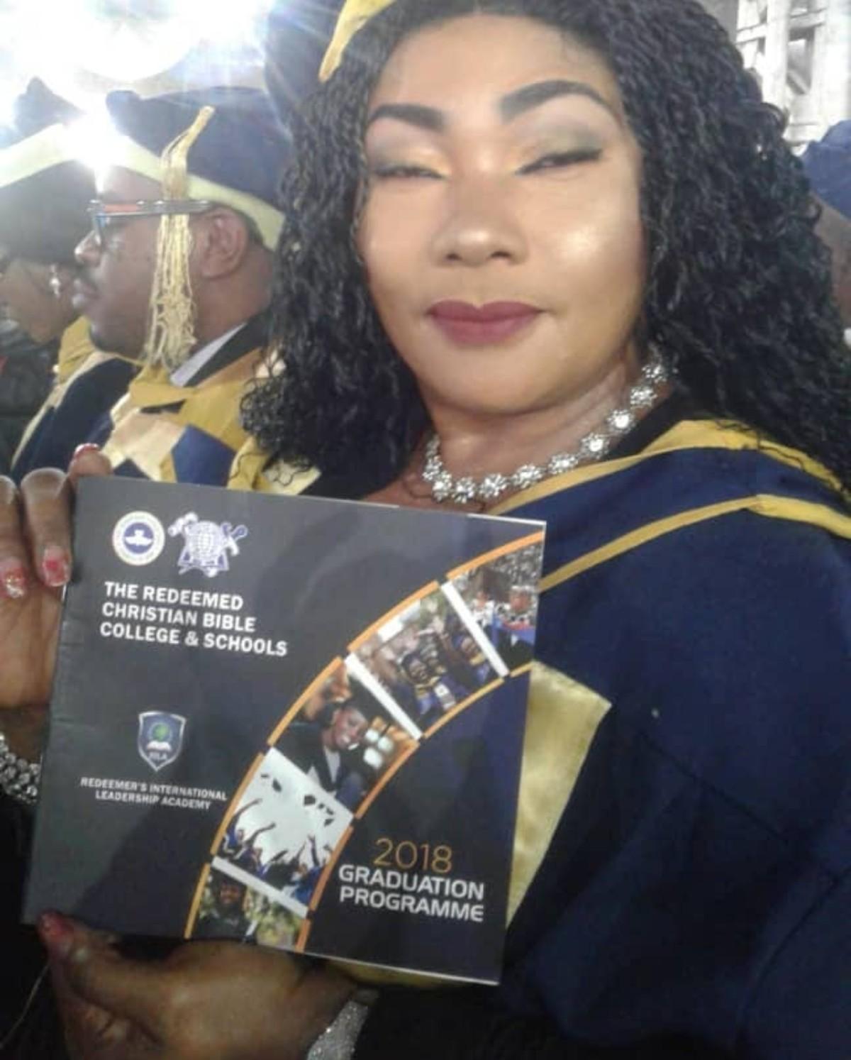 Eucharia Anunobi Bags Post Graduate Diploma In Pastoral And Leadership Course (6)