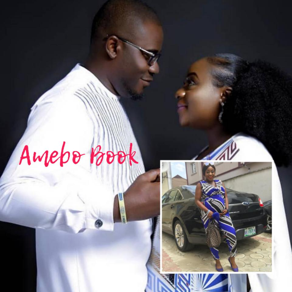 Queen Wokoma Shows Off Baby Bump To Celebrate 1st Wedding Anniversary