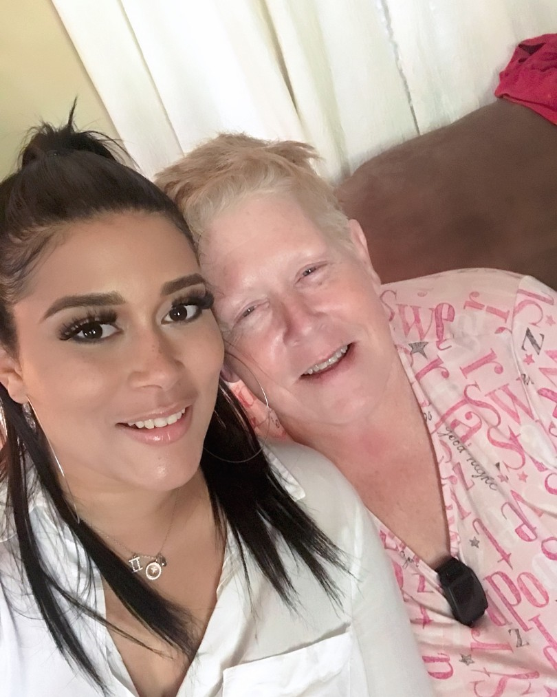 Adunni Ade Poses With Her German American Mother (2)