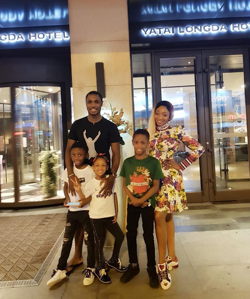 Jude Ighalo And Wife With Children