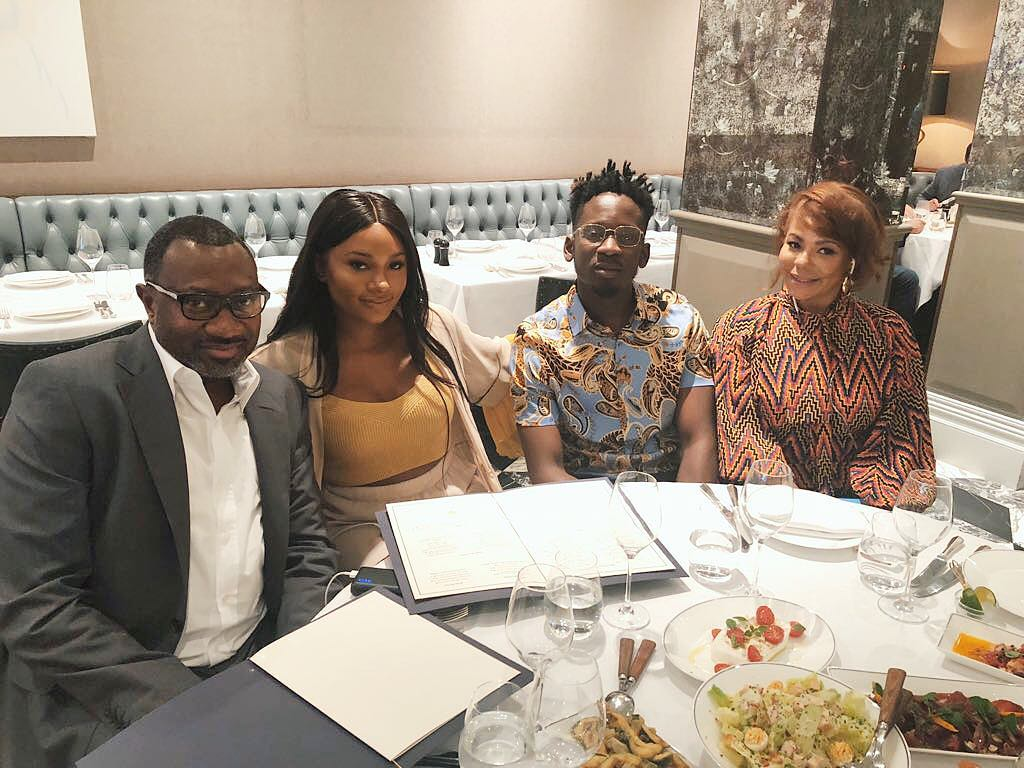 Temi Otedola Graduation Lunch