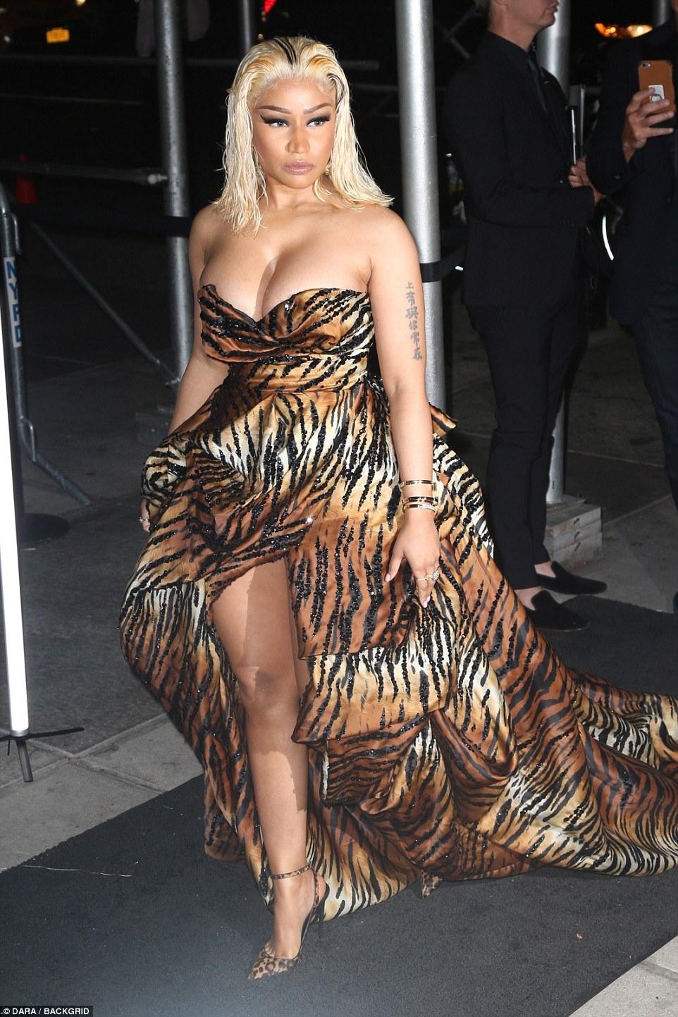 Nicki Minaj Harper's Bazaar Icons Party