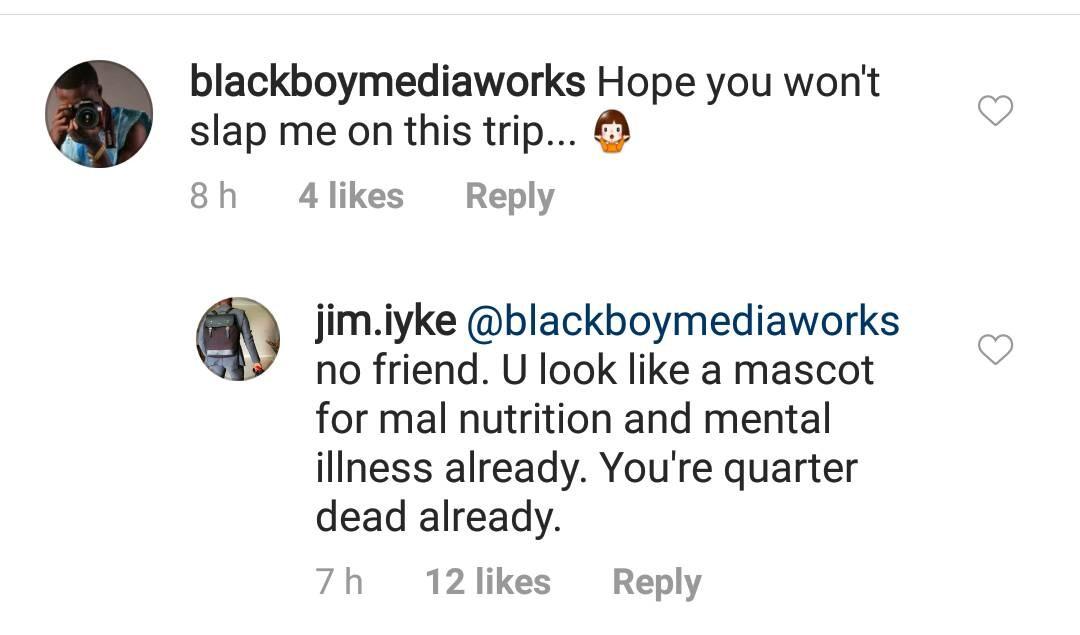 Jim Iyke Drags Instagram User Who Mocked Him For Slapping Someone (2)