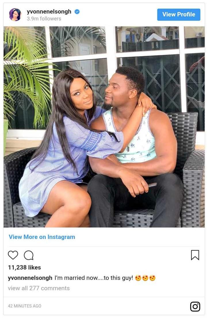 Yvonne Nelson Married To Kunle Remi (2)