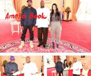 Yoweri Museveni Gives Kanye West And Kim Kardashian African Names