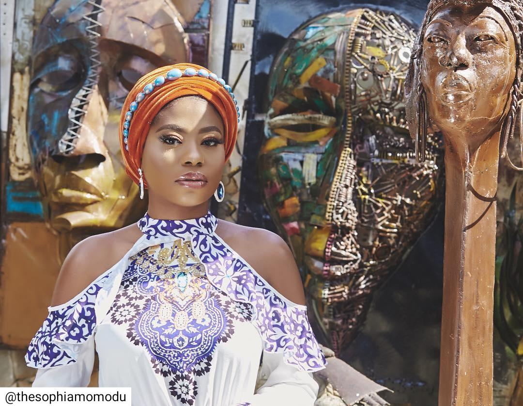 Sophia Momodu At The Nike Art Gallery (4)