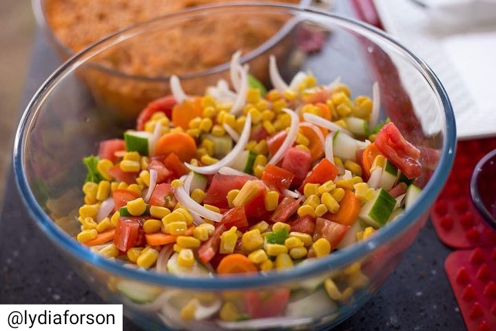 Lydia Forson Cooks Ghana Jollof On McBrown's Kitchen TV Show (7)