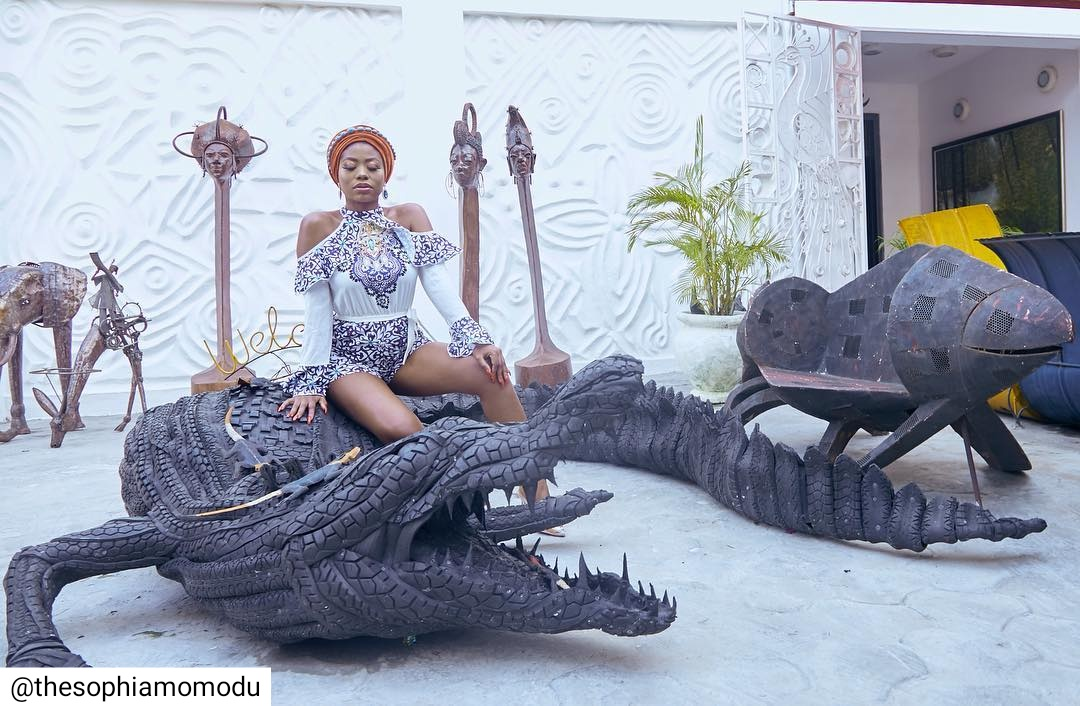 Sophia Momodu At The Nike Art Gallery (2)
