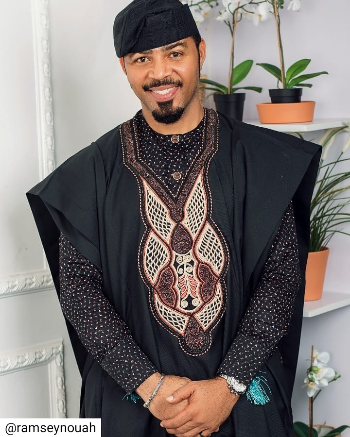 Ramsey Nouah Looks Dapper In Agbada (2)