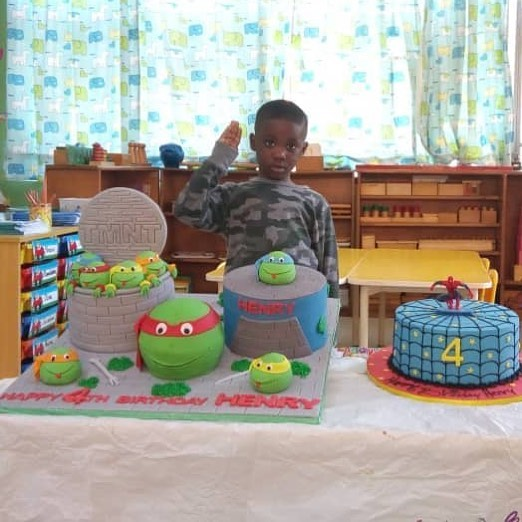 Mercy Johnson And Prince Odi Okojie Celebrate Son Henry's 4th Birthday (2)