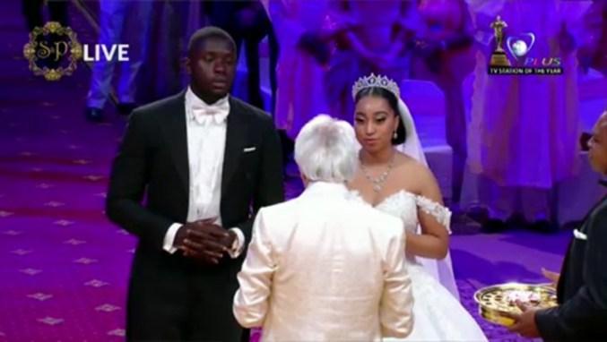 Sharon Oyakhilome And Philip Frimpong White Wedding (2)