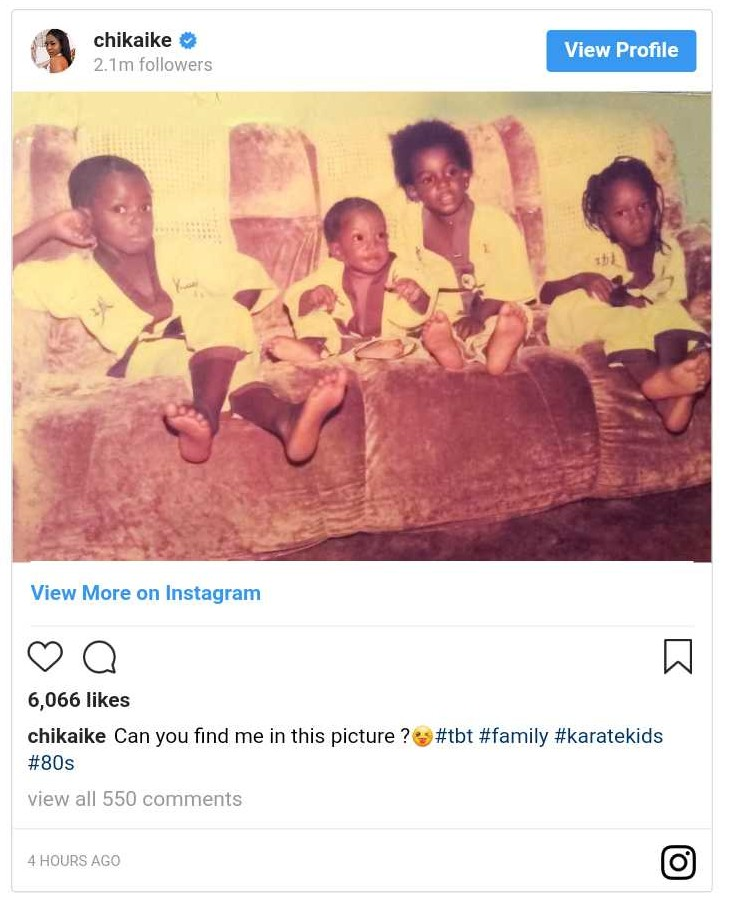 Chika Ike Karate Kids Throwback (3)