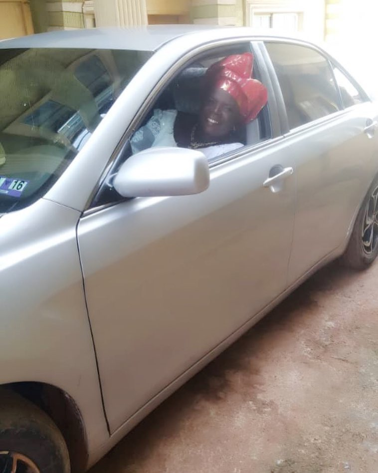 Destiny Etiko Gifts Her Mother Brand New Car (2)