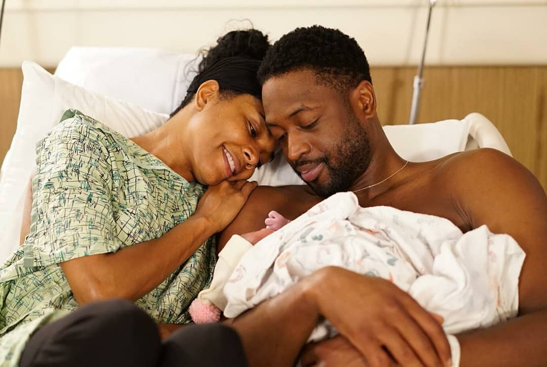 Gabrielle Union And Dwyane Wade Welcome Baby Girl (5)