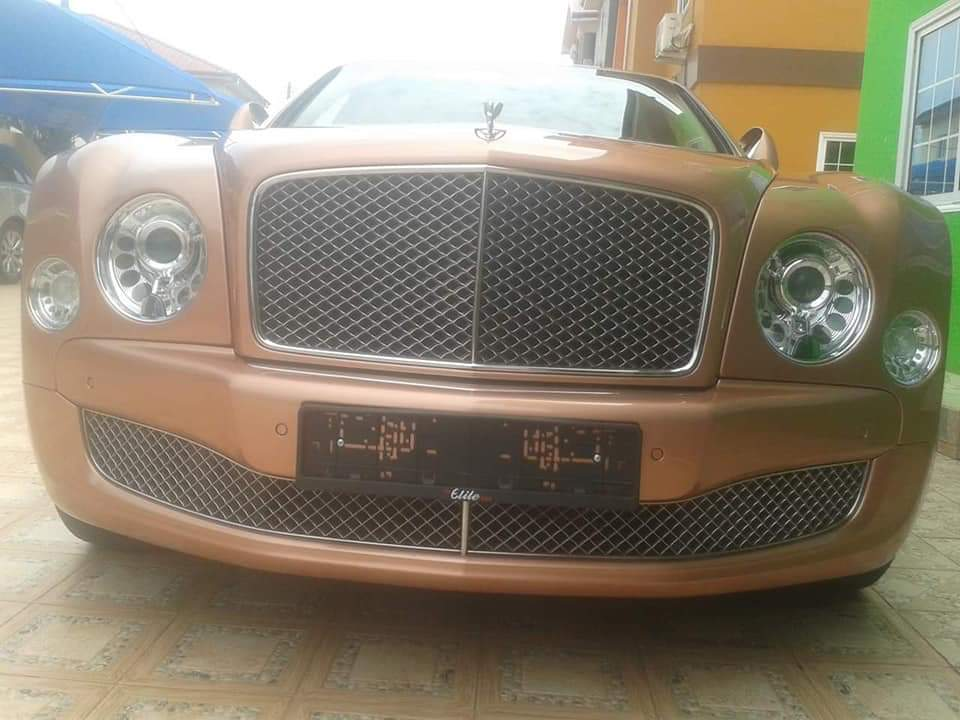 Obinim Buys Brand New Rolls Royce Ghost And G-Wagon (5)