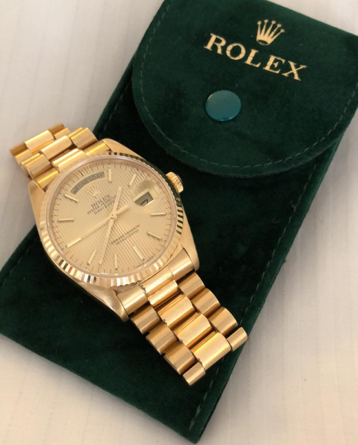 Bobrisky Gets A Rolex As Gift From His Bae (3)
