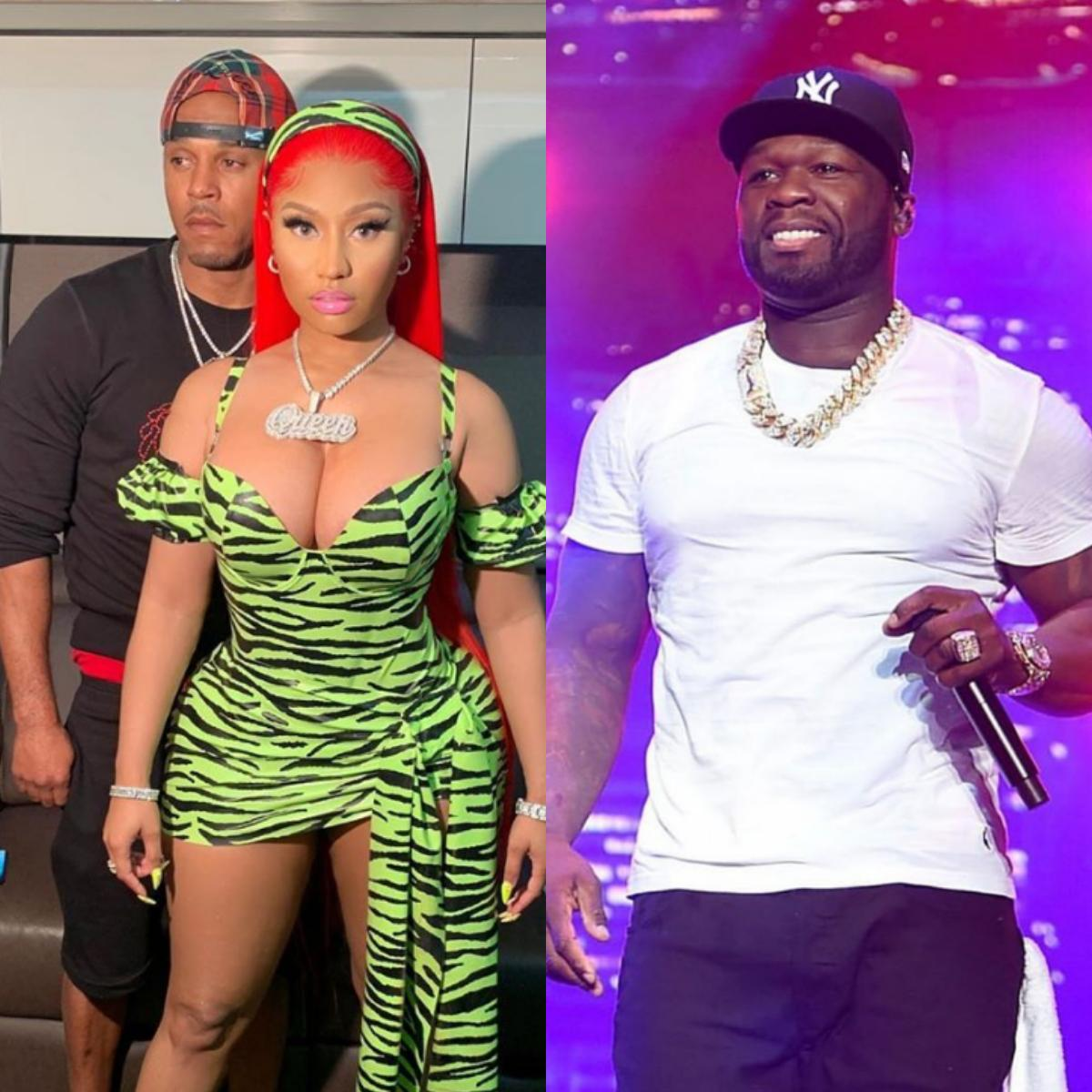 50 Cent Reacted To Nicki Minaj Retirement Announcement