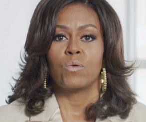 Michelle Obama Childhood Photo