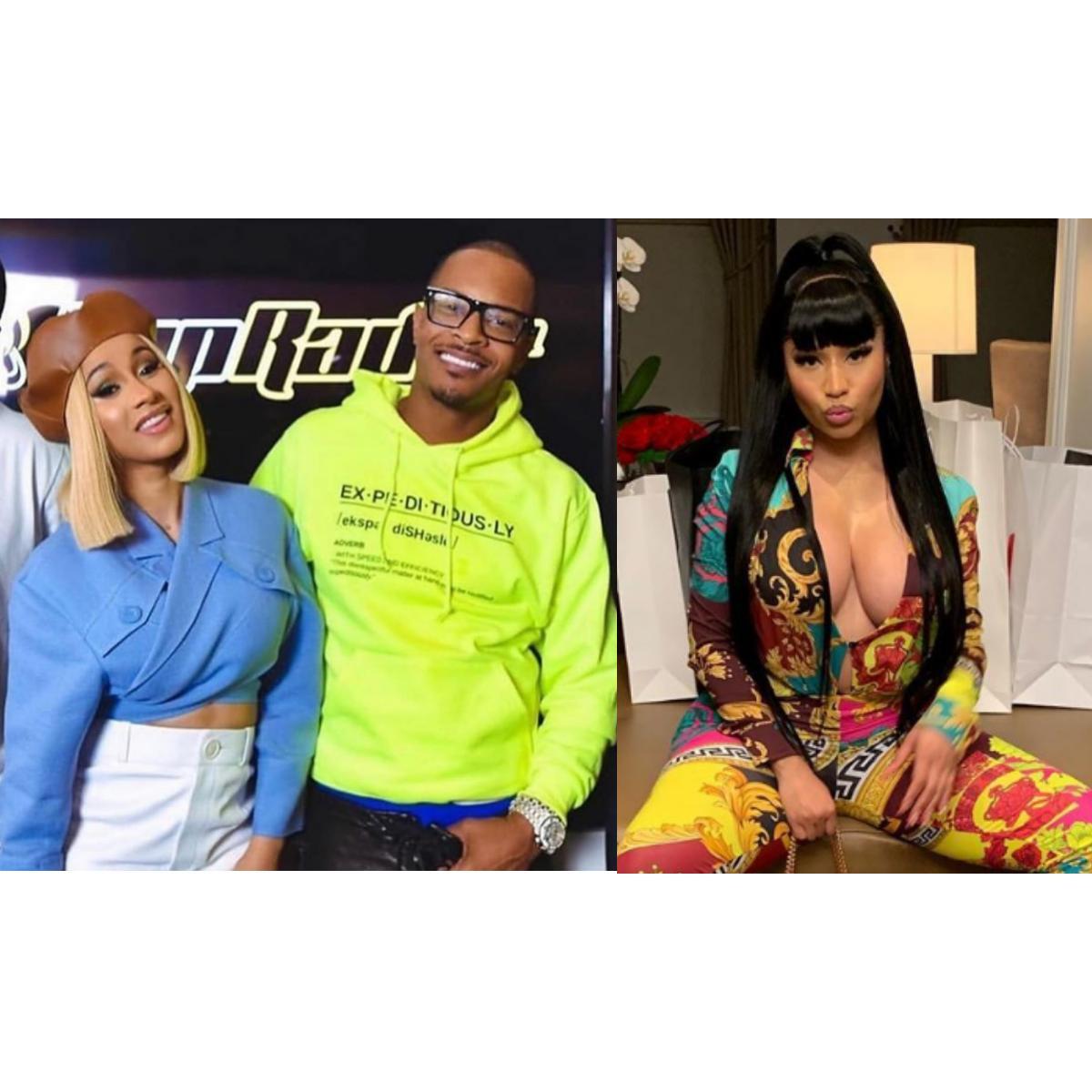 T.I. Thinks Nicki Minaj And Cardi B Should Be Celebrated