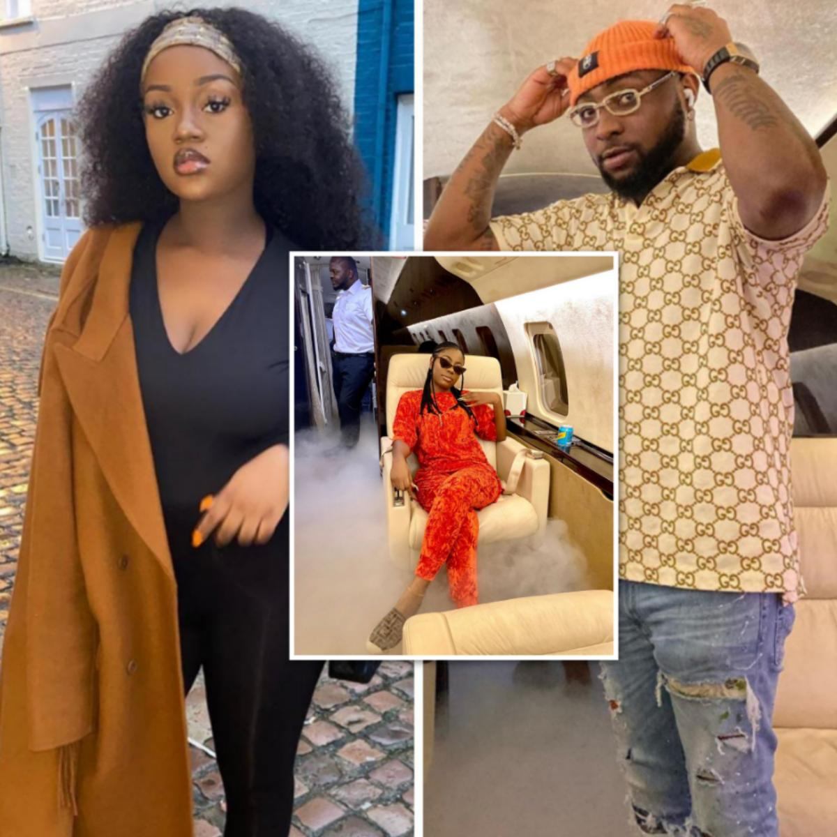 Chioma Reacts After Davido Takes Sophia Momodu To Ghana