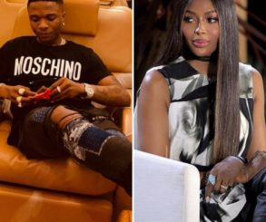 Naomi Campbell Calls Wizkid Lil Brother