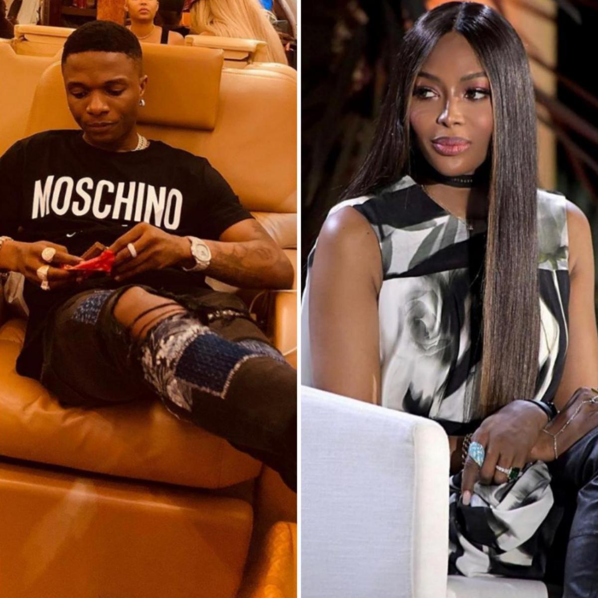 Naomi Campbell Calls Wizkid Lil Brother