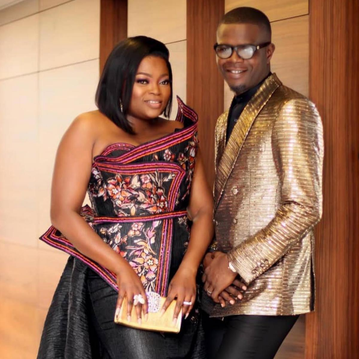 Funke Akindele Wishes Husband Happy Birthday